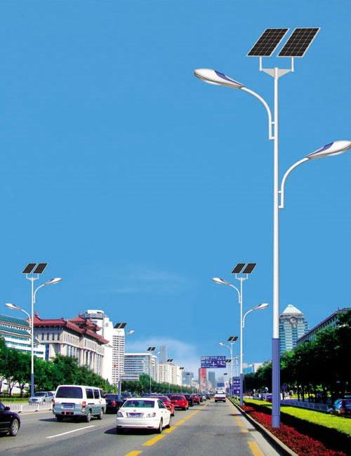 太阳能路灯灯柱