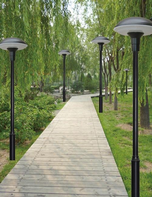 传统庭院灯